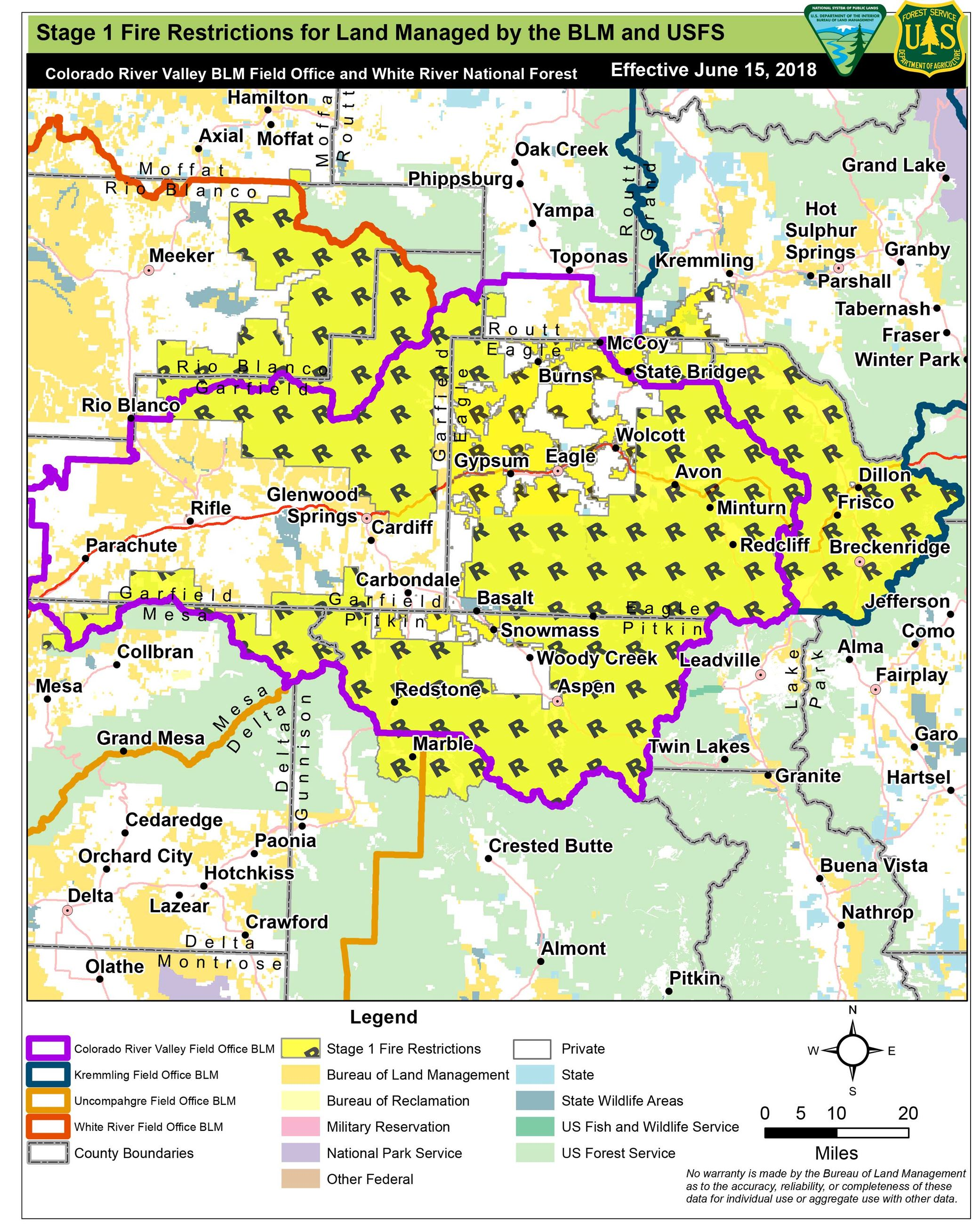 fire restrictions map 6-13-18